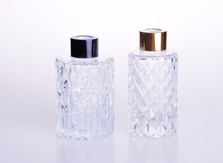 Luxury Design Aromatherapy Glass Bottle for Perfume Diffuser