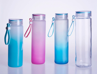 Glass Milk Tear Drinks Bottle