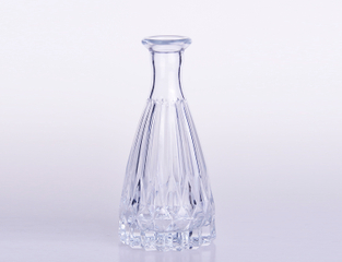 Small Size Luxury Glass Vase for Home Decorate