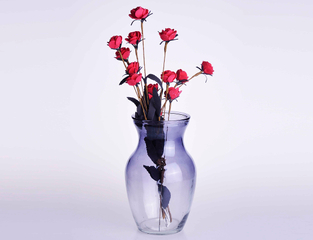 Crystal Glass Vase for Decoration