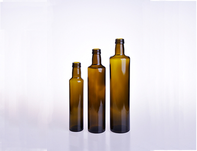 Round Olive Oil Bottle